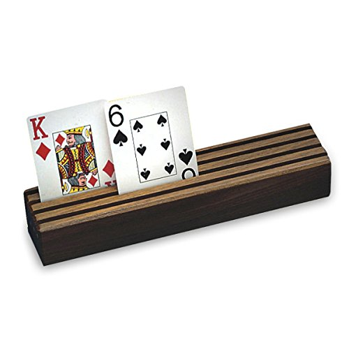 Wooden Playing Card Holders - 4
