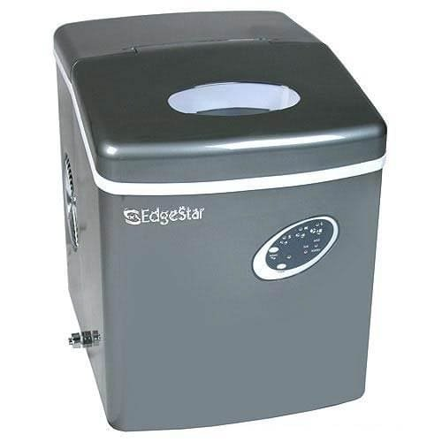 EdgeStar Titanium Portable Ice Maker