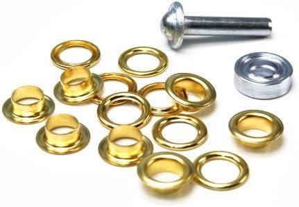 Prym Ösen mit Scheiben 5mm gold