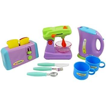 Amazon.com: PowerTRC® Kitchen Appliances Toy for kids - Mixer ...