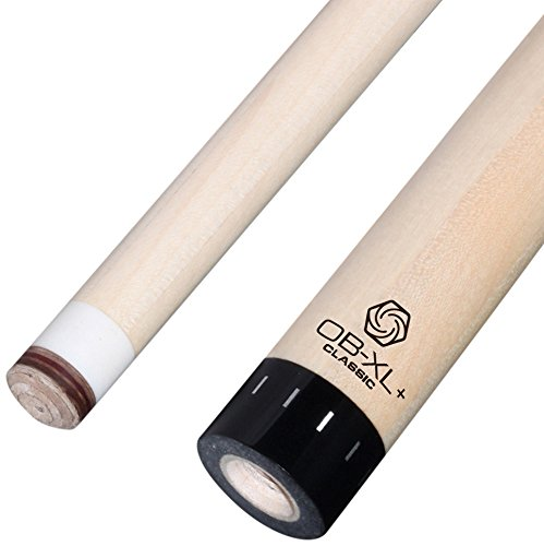OB Cues 123-Xlcvqr+ OB-XL Classic+ Pool Cue Shaft, Viking Quick Release Joint with black Collar, 13.25mm Tip, 3/8