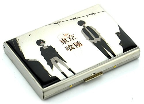 Aweek® 20 In 1 Stainless Steel PSV Video Game Card Storage Case Memory Card Box Protective Game Card Storage Holder For Playstation Vita PSV1000 PSV2000 (Ghoul (20 in 1))
