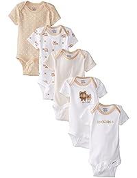 Unisex Baby 5 Pack Variety Onesie - Bears (Baby)