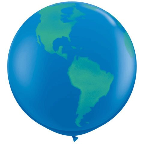 Globe World Planet Earth Balloon product image