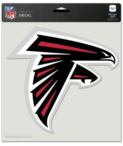 NFL Atlanta Falcons Die-Cut Color Decal, 8