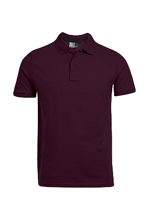 41cfd9b90e37 Single-Jersey Poloshirt Herren  Amazon.de  Bekleidung