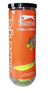 Slazenger Pelotas de Pádel MAX, Adultos Unisex, M