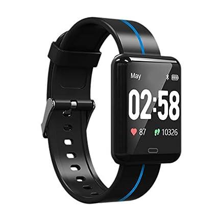 Amazon.com: TOOGOO F5 Smart Bracelet Blood Pressure Heart ...