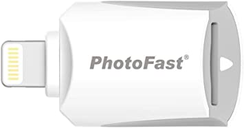 Amazon.com: iPhone lector de tarjeta Micro SD por Gigastone ...