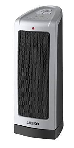 Lasko 5309 Electronic Oscillating Tower Heater, Digital Controls (Space Heater Office)