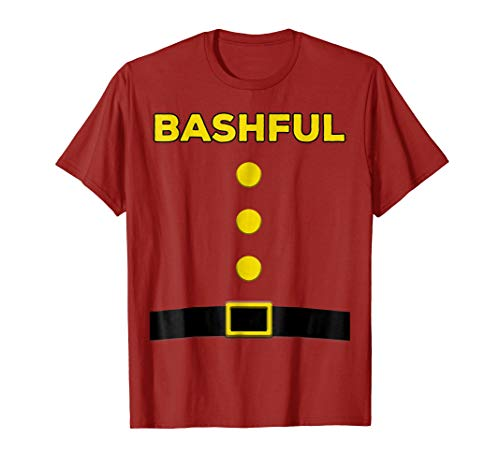Bashful Dwarf Halloween Costume Brown Shirt