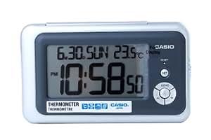 CASIO 10271 DQ-748-8D - Reloj Despertador digital gris