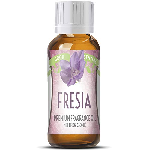 Fresia Scented Oil by Good Essential (Huge 1oz Bottle - Premium Grade Fragrance Oil) - Perfect for Aromatherapy, Soaps, Candles, Slime, Lotions, and More! from Good Essential
