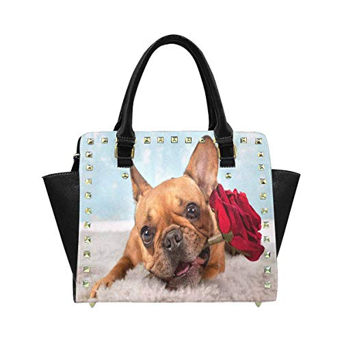 french bulldog messenger bag - 2