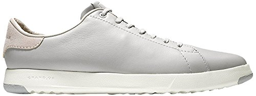 Cole Haan Men's Grandpro Tennis Fashion Sneaker, Silverfox, 11 M US