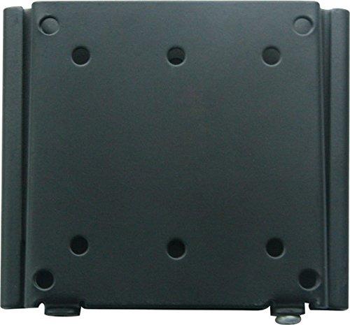 Universal LCD FLat Mount LCD-F-1 Vesa 100 x 100, Vesa 75 x 75 LCD Flat Wall Mount bracket for 15