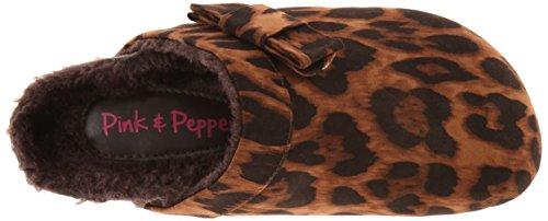 Pink & Pepper Womens Queenie Mule Leopard dFD9lxYQd