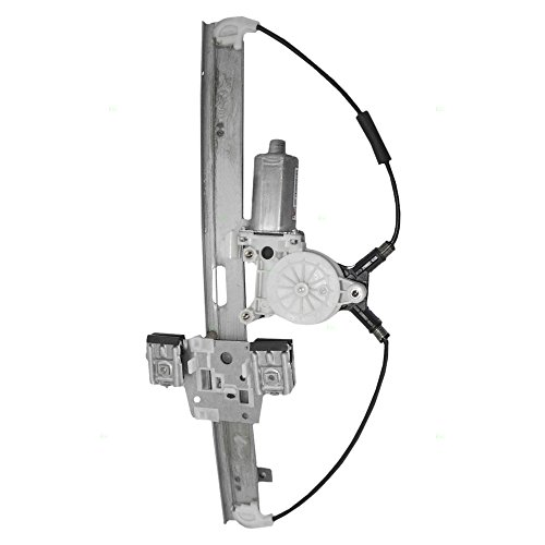 Passengers Front Power Window Lift Regulator & Motor Assembly Replacement for Dodge Mitsubishi Pickup Truck 55359566AC