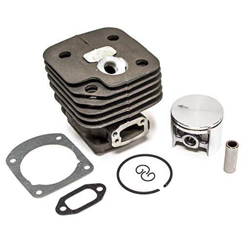 52MM Cylinder Piston Ring Pin Assembly Kit for Husqvarna 272 272K Chainsaws