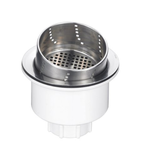 Blanco 441231 3-in-1 Basket Strainer, Stainless Steel by Blanco