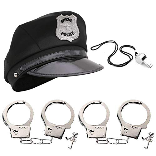 Police Accessories, Police Hat Party Cosplay Stage Cloth
