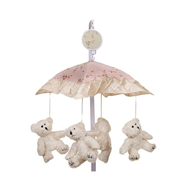 Glenna Jean Cottage Collection Rose Musical Mobile
