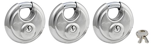 Master Lock 40TRI Shrouded Stainless