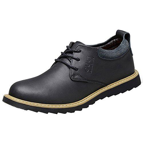 iMaySon(TM) Men's Fashionable Breathable Soft Business Leather Shoes (7.5 D(M) US,Black) (Howser Slide Keen compare prices)