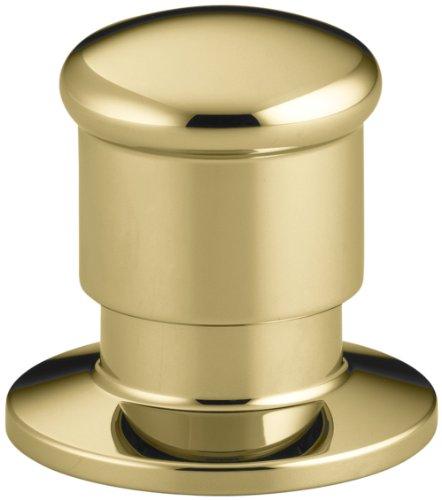KOHLER K-9530-PB Deck Mount Two-Way Diverter Valve, Vibrant Polished Brass ()
