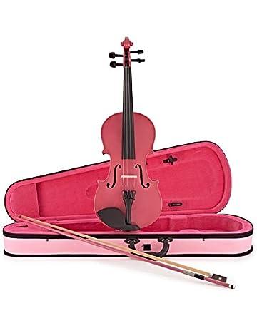 Violín de Estudiante Tamaño 3/4 Rosa de Gear4music