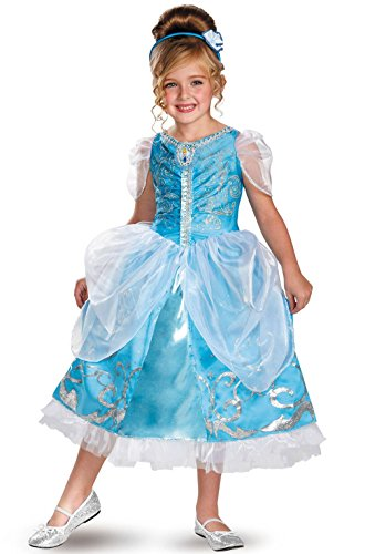 [Mememall Fashion Princess Sparkle Deluxe Child Halloween Costume] (Deluxe Plush Cow Mascot Costumes)