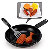 Liberty Imports Fast Food Playset with Cooking Pan