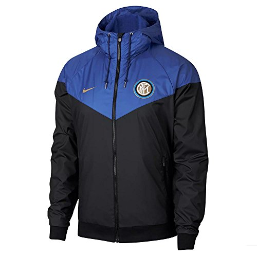 - NIKE 2018-2019 Inter Milan Authentic Windrunner Jacket (Black)