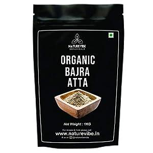Naturevibe Botanicals Organic Bajra Atta – 1Kg