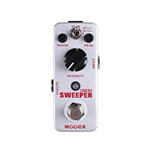 Mooer Baby Tuner Pedale Accordatore Cromatico – Sweeper Bass Envelope Filter