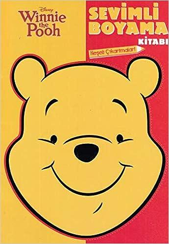 Winnie The Pooh Sevimli Boyama Kitabi Collective 9786050955347