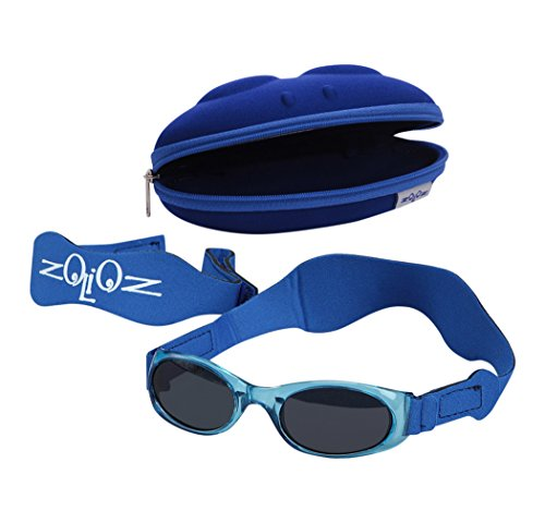 Tuga Baby / Toddler UV 400 Sunglasses w/ 2 Straps & Case, - Sunglass Polarized What Is A