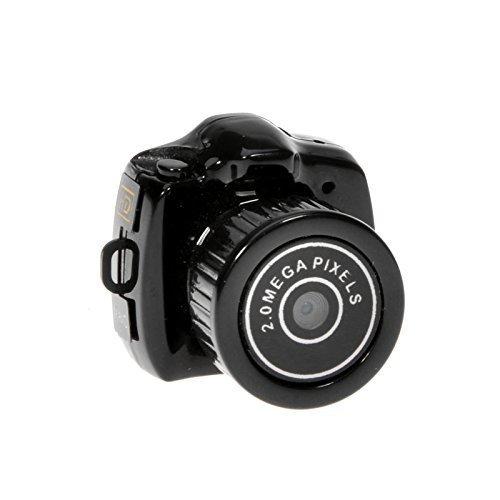 EchoAcc Smallest Mini Digital DSLR DV Video Recorder Camera Web Cam DVR Camcorder HD 1280x720 Y2000 [並行輸入品] B01KBR9RMS