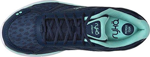Ryka sueño de las mujeres Cruz formación negro/gris B (M) US Insignia Blue/Yucca Mint
