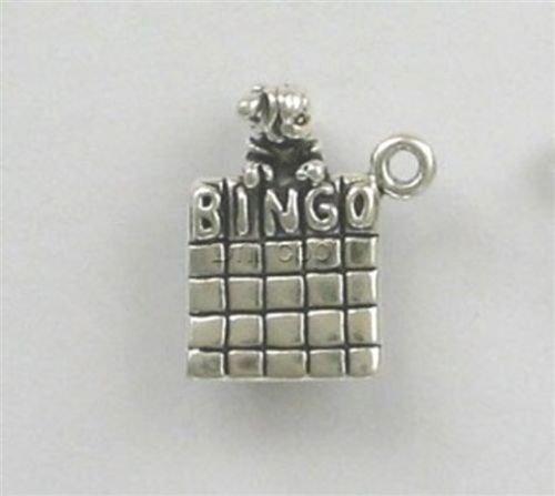 ndant Bracelet Sterling Silver 3-D Bingo Fairy Charm ()