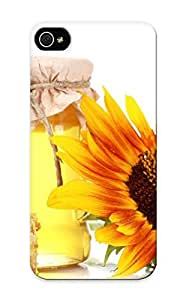 First-class Case Cover For Iphone 5/5s Dual Protection Cover Honeyhoneycombbanksunflowerwhite Still Life Color Sweets