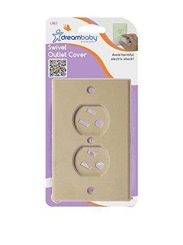 DreamBaby Swivel Outlet Cover Beige by Dream Baby [並行輸入品]   B01AL032IA
