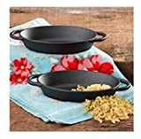 The Pioneer Woman Timeless Beauty Cast Iron Mini Au Gratin Set, Set of 2