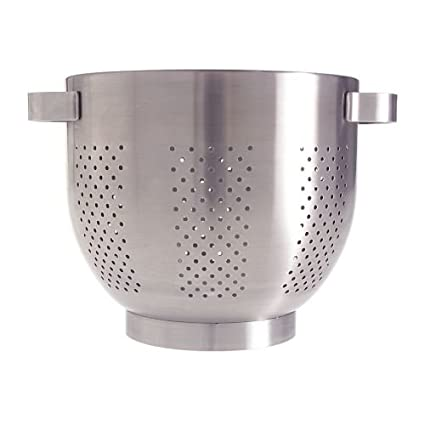 "Ikea Colander 9"" Stainless Steel Strainer Pasta Vegetable Cookware Pot Ordning"