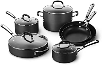 Calphalon 1943338 10 Piece Classic Nonstick Cookware Set