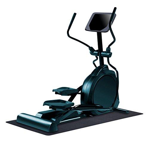 "MotionTex Workout Exercise Equipment Mat, 30"" x 66"", Black"