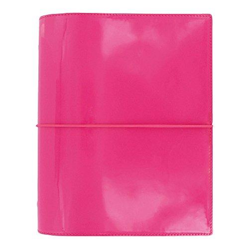 Pen Filofax Pink (Filofax 2019 A5 Domino Organizer, Patent Pink, Paper Size 8.25 x 5.75 inches (C022482-19))