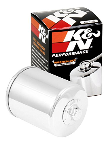 K&N KN-170C Harley Davidson High Performance Oil Filter (2003 Davidson Sportster Harley)