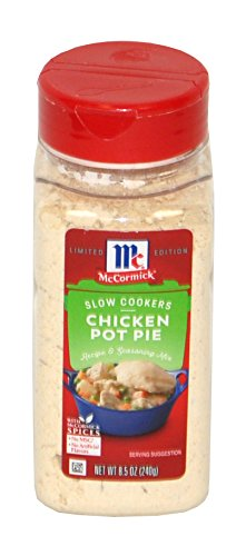McCormick Slow Cookers Chicken Pot Pie 8.5 Ounces - Mccormick Poultry Seasoning