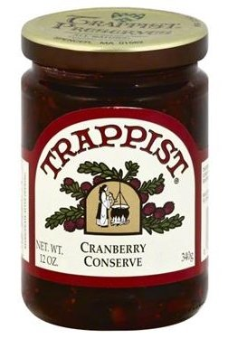 Trappist Cranberry Conserve - All Natural 12 oz.